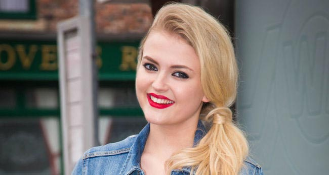 Lucy Fallon close up
