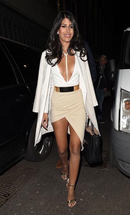 Jasmin Walia at In The Style Clothing Launch at Libertine in London on March 31, 2016