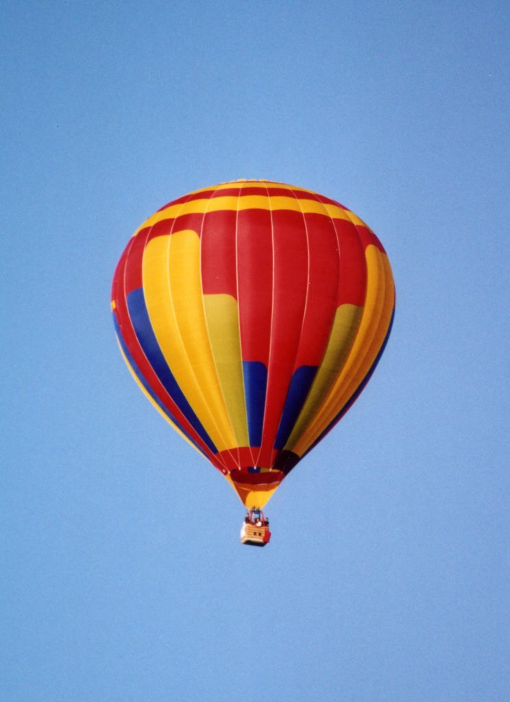 Buy a hot air ballon and ride every day. Hot air balloon cost breakdown post