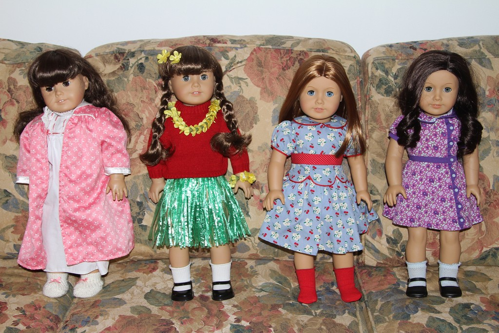 American girl doll models