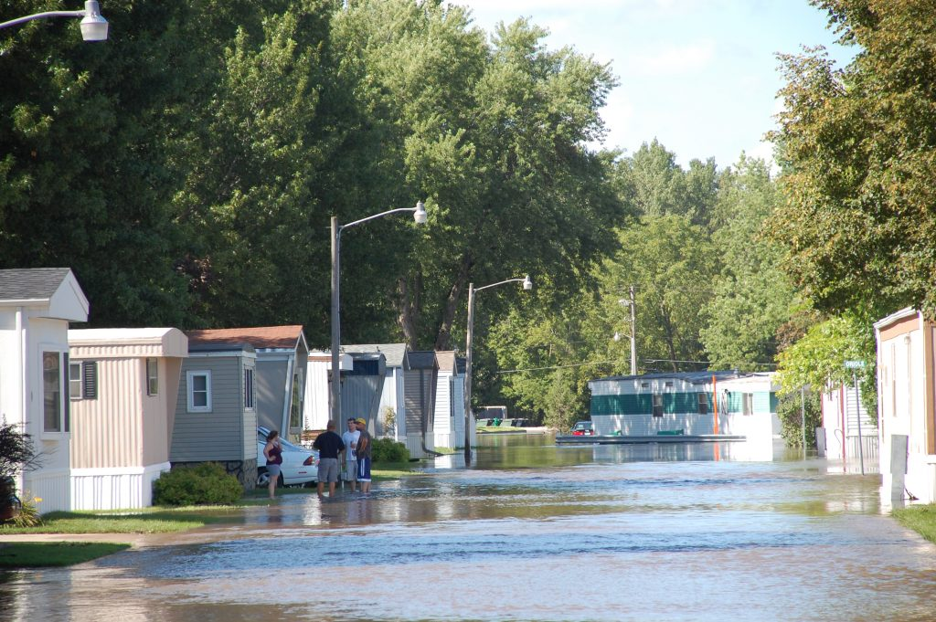 Mobile home application cost in flood areas