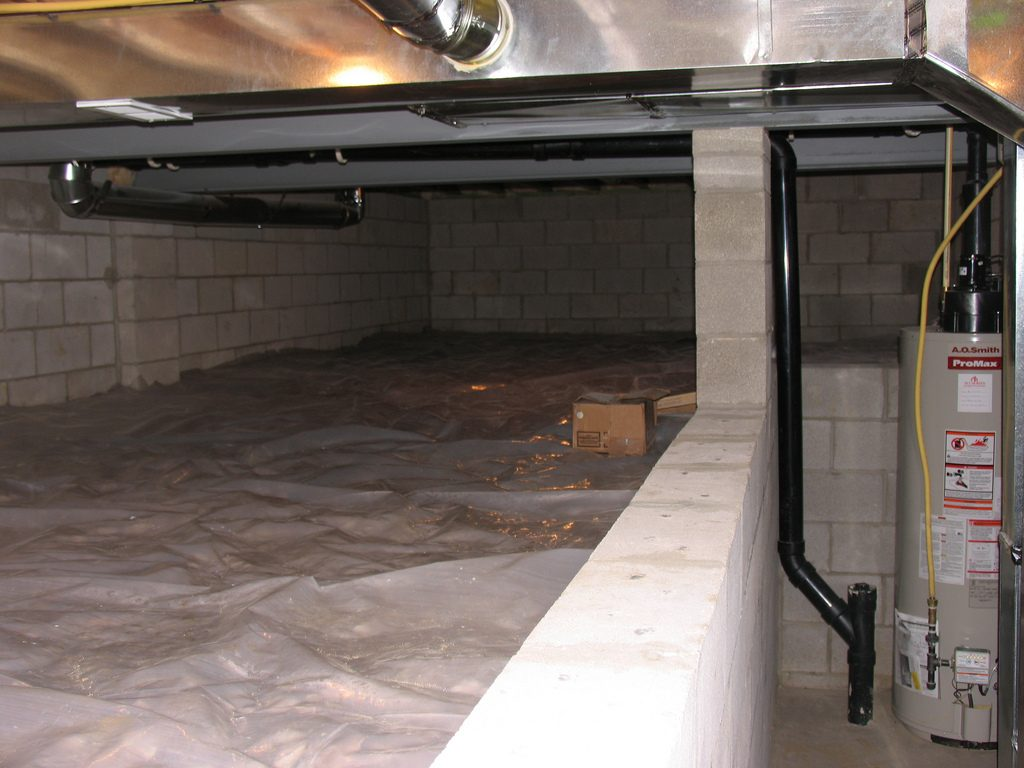 Sample crawl space encapsulation process cost analysis