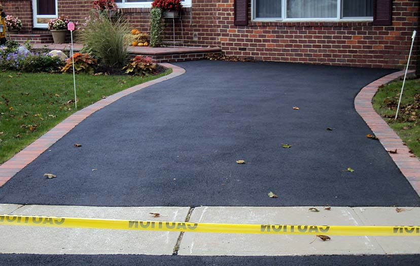 Asphalt Driveaway constructed detailed cost summary