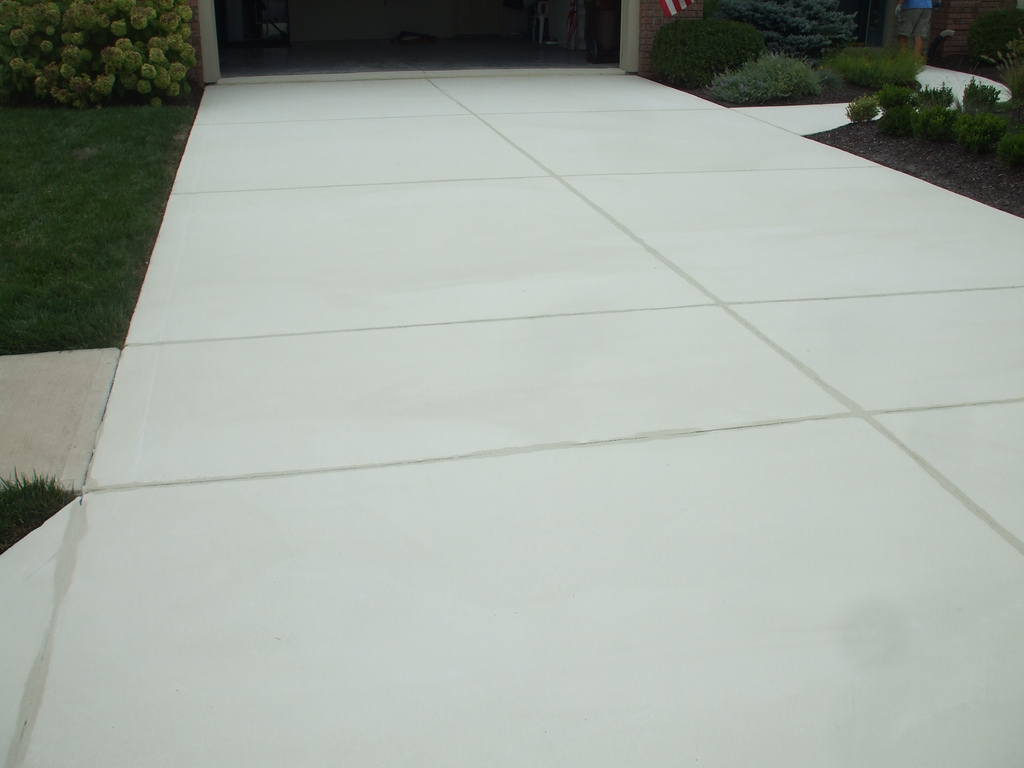 Concrete driveway cost summary