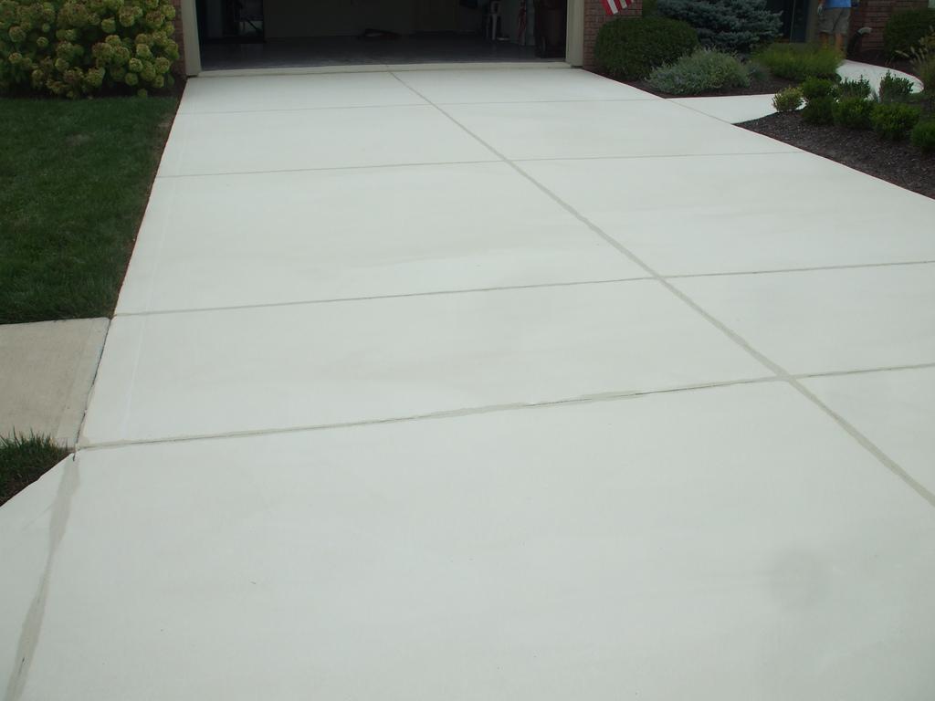 Concrete driveway cost summary