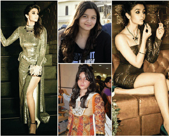 Alia Bhatt Weight Loss then and  now