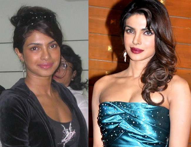 Priyanka Chopra Skin Lighten Care Beauty Tip Products Hairstyle Fashion Style Line Tips