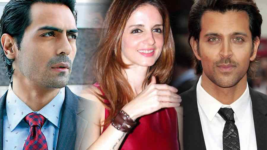 Sussanne Khan Wedding Pictures With Arjun Rampal Both Love Story Marriage Album