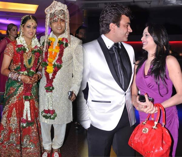 Shweta Tiwari Second Marriage Vs Her Ex Husband Wedding Pictures