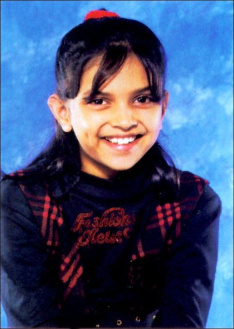 Cute Deepika Padukone Childhood Photos