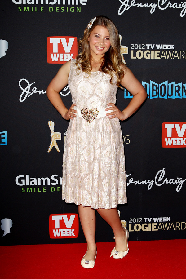 arrives at the 2012 Logie Awards at the Crown Palladium on April 15, 2012 in Melbourne, Australia.