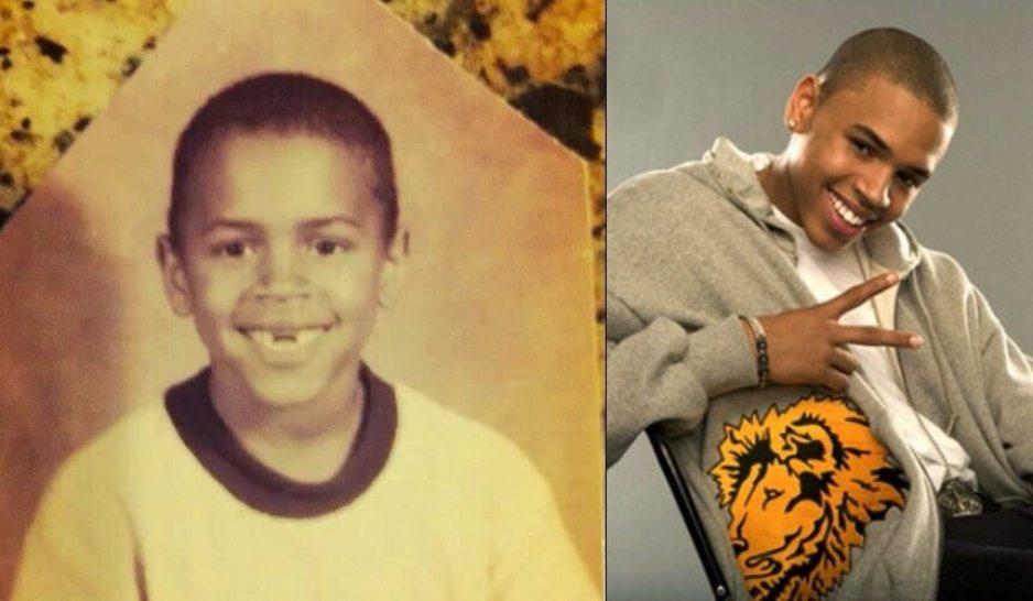 Chris Brown young