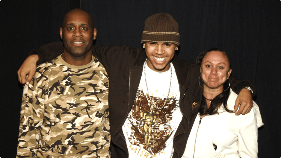 Chris Brown Parents