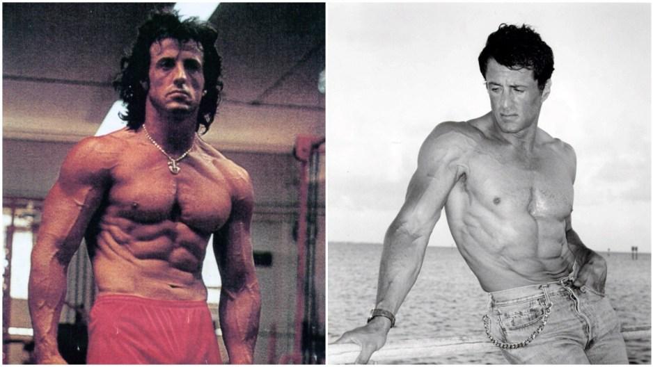 Sylvester Stallone body