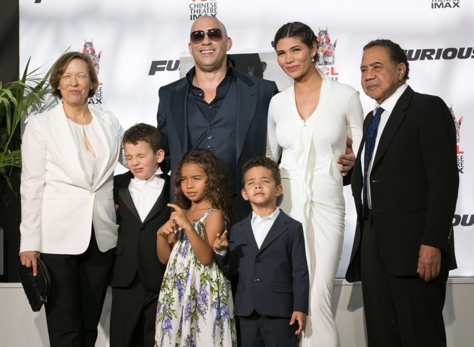 Vin Diesel Twin Brother and Family - Star YesVin Diesel Mother And Father
