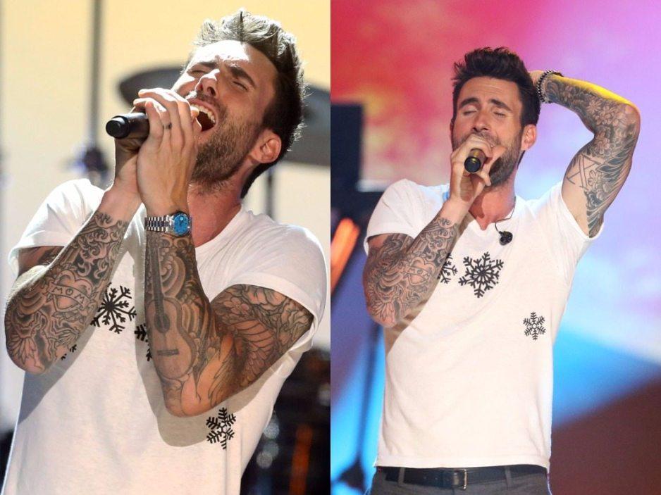Adam Levine tattoo 5