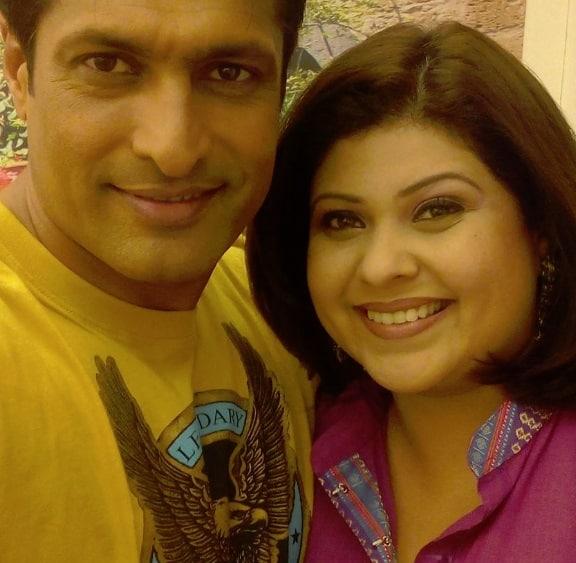 Riya Banerjee in Power Couple